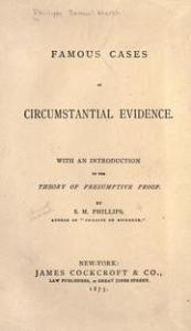 Famous Cases of Circumstantial Evidence frontispiece