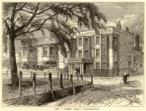 The Green Man, where the Blackheath inquest was held.