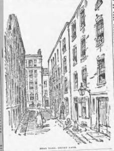 Work House, Bear Yard, from Lloyd's Weekly, 1 September, 1895